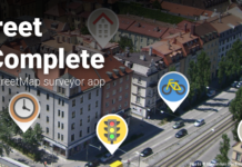 OpenStreetMap surveyor Android app
