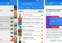 Make Android RSS reader app