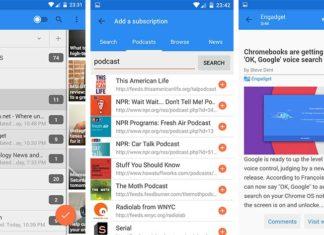 Make Android RSS reader app