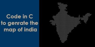 Create India Map Using C Program