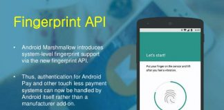 FingerprintManager - Handle Android fingerprint API
