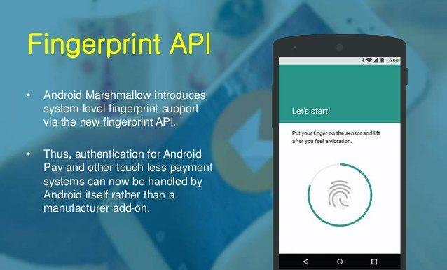 FingerprintManager - Handle Android fingerprint API
