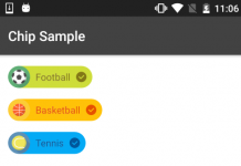 How to Add Material Chip View in Android Projects
