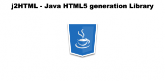 j2HTML - Java HTML5 generation Library