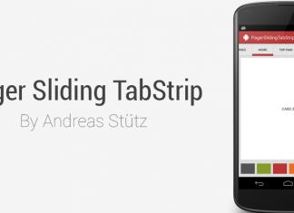 Add Android PagerSlidingTabStrip