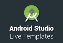 Android Studio Live Templates