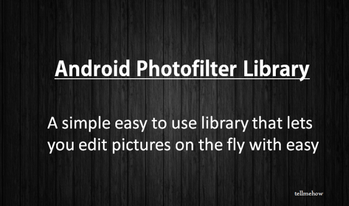 Photo Filter for Android