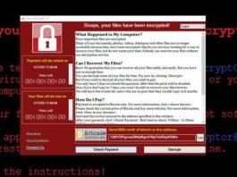 Ransomware or WannaCry Virus Example