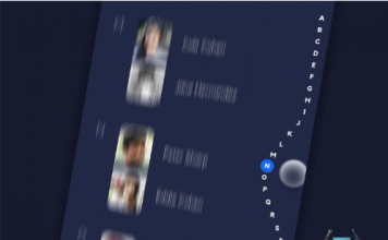 Wave Sidebar Animation Android