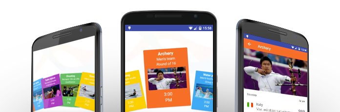 Fan Layout Manager for Android