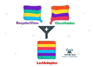 Is LastAdapter ending RecyclerView adapter and ViewHolder?