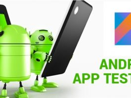 Android Testing using Kotlin