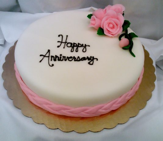 Get Anniversary Cakes From Anywhere In India