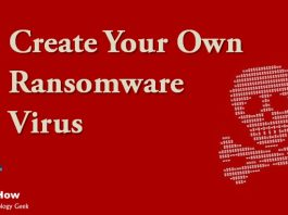 How to Create Your Own Ransomware Virus?