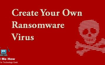 How toCreate Your Own Ransomware Virus?