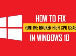 runtime broker
