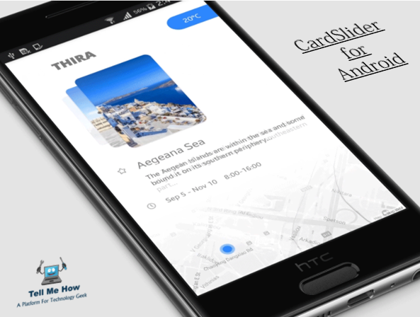CardSlider for Android