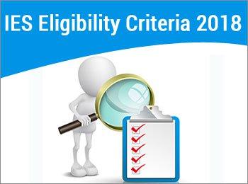 UPSC IES 2018 eligibility Criteria