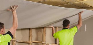Scrubbing Stains from Gyprock Plasterboard
