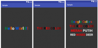 Multicolor TextView in Android