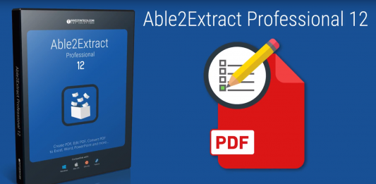 Able2Extract Professional 12 : Best PDF Editor Review
