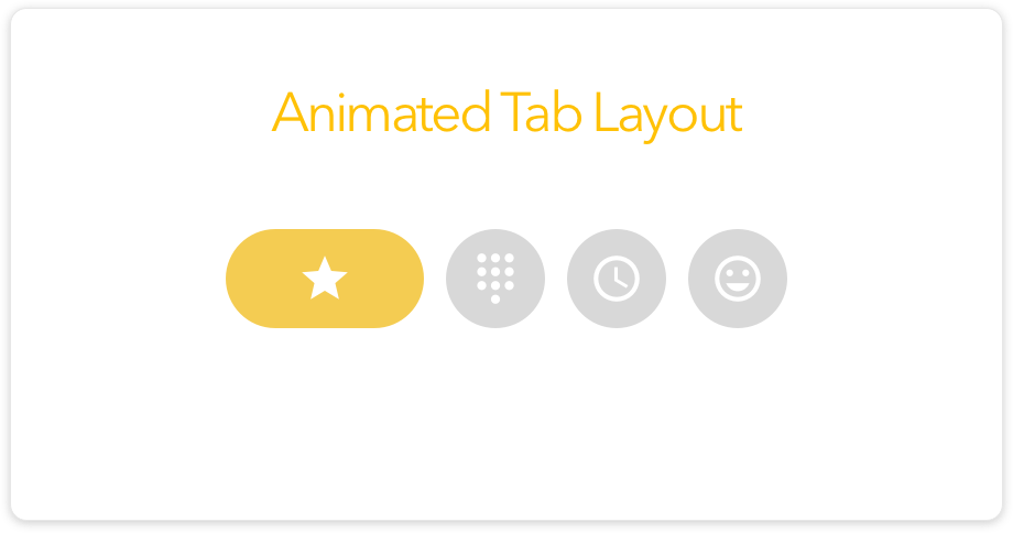How to Add Animated Tab Layout in Android? » Tell Me How - A