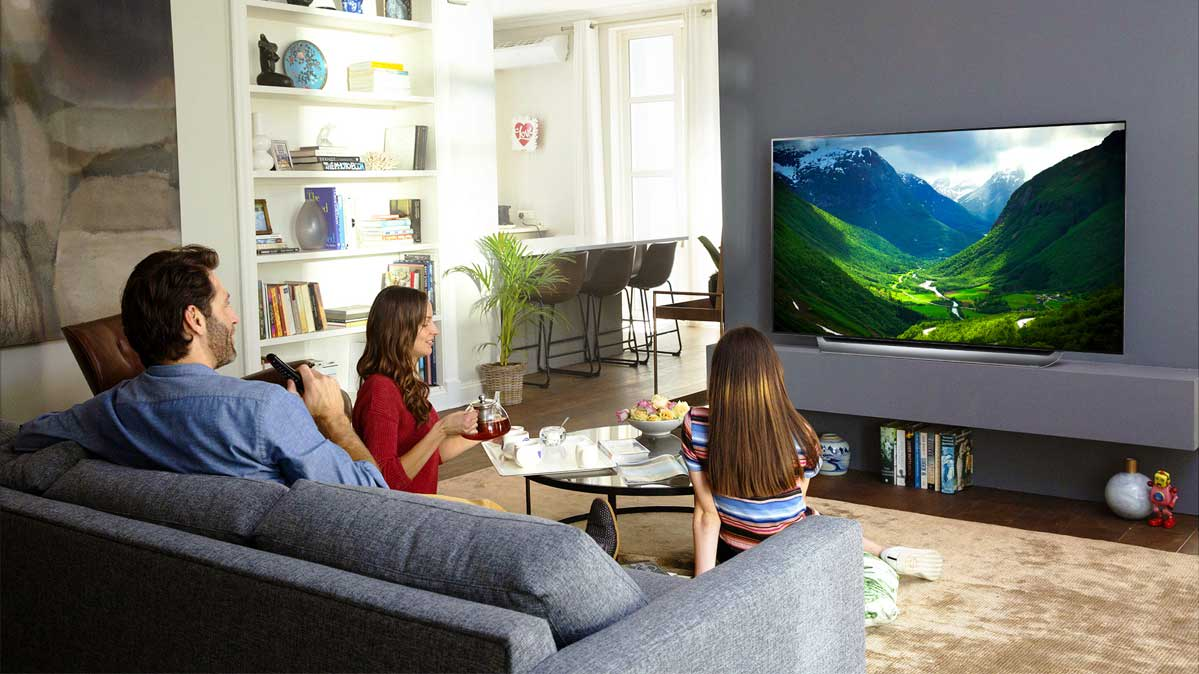 How to set up room for T V watching » Tell Me How - A Place