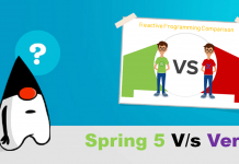 Reactive programming comparison between spring 5 and vertx