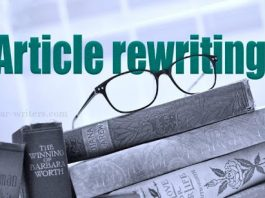 Article Rewriting tool