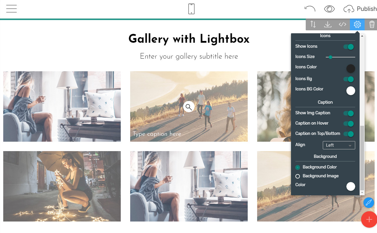 Best Web Page Builder to Create a Bootstrap Image Gallery