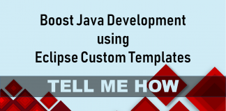 Custom Templates in Eclipse for Boost Java Development