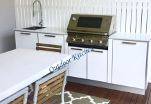 A step by step guide to set an outdoor kitchen
