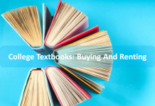 Buying and renting textbooks
