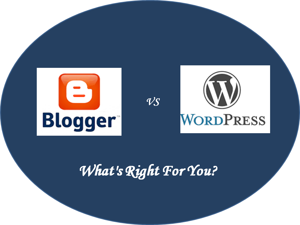 Blogger Vs WordPress – What's Right For You?